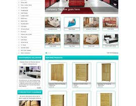 #32 for Website Design for The Bed Shop (Online Furniture Retailer) af herick05