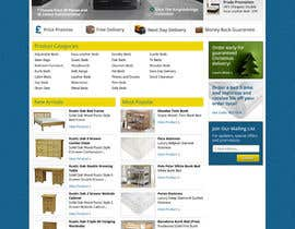 #41 pentru Website Design for The Bed Shop (Online Furniture Retailer) de către wademd