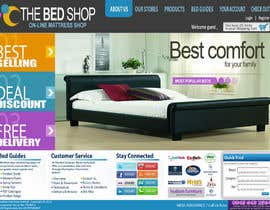 #18 pentru Website Design for The Bed Shop (Online Furniture Retailer) de către katnigan08