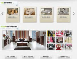 #25 pentru Website Design for The Bed Shop (Online Furniture Retailer) de către adez78