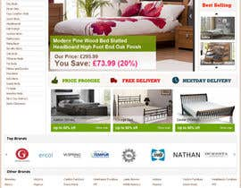 #19 for Website Design for The Bed Shop (Online Furniture Retailer) af tuanrobo