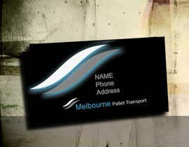 nº 9 pour Design some Business Cards for Melbourne Pallet Transport par five55555