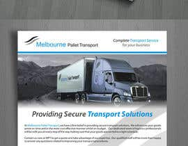suneshthakkar tarafından Design some Business Cards for Melbourne Pallet Transport için no 15