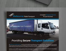 suneshthakkar tarafından Design some Business Cards for Melbourne Pallet Transport için no 19