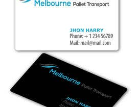 nº 12 pour Design some Business Cards for Melbourne Pallet Transport par texture605