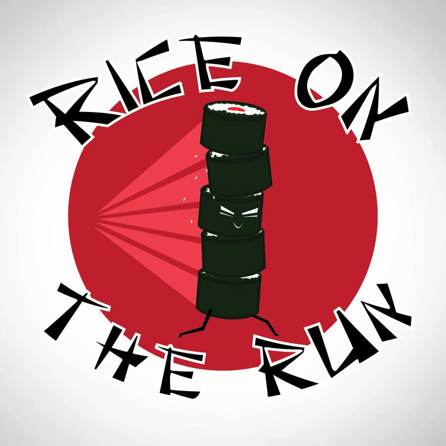 #28 for Rice On The Run logo design by VinJon