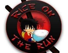 #30 untuk Rice On The Run logo design oleh karamja007