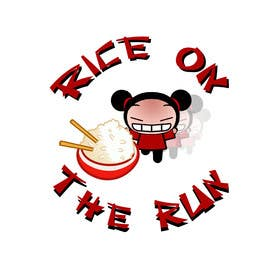 #6 for Rice On The Run logo design by bunakiddz