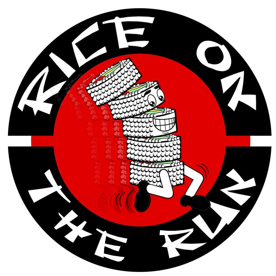 Konkurrenceindlæg #35 for Rice On The Run logo design
