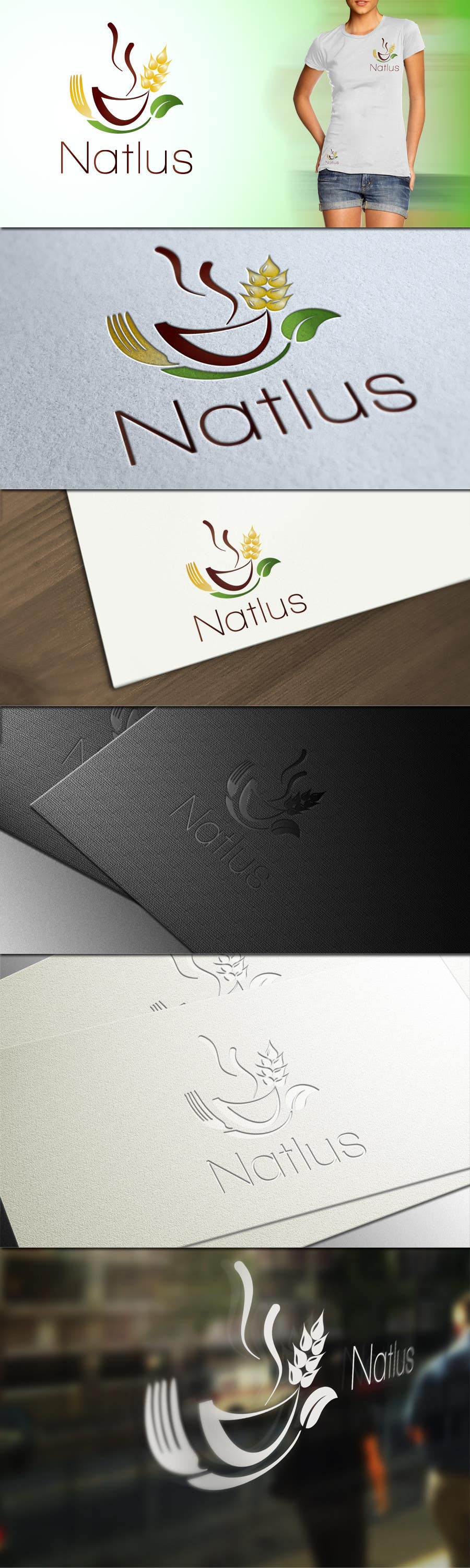 #44 for Design a logo & complete identity for NATLUS, by CTLav