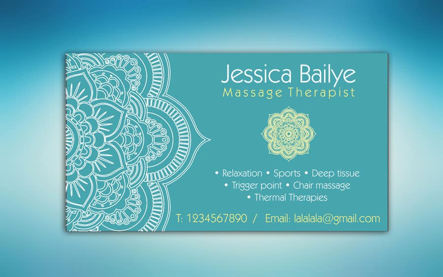 Entry 5 by vesiboo for design logo business card for massage contest entry 5 for design logo business card for massage therapy colourmoves