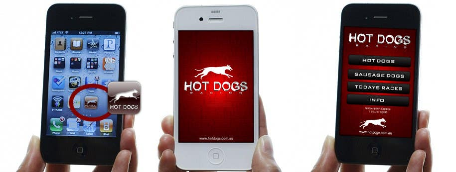 #69 for Graphic Design for Hotdogs racing by Sirvan3TR