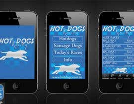 nº 65 pour Graphic Design for Hotdogs racing par b0bby123