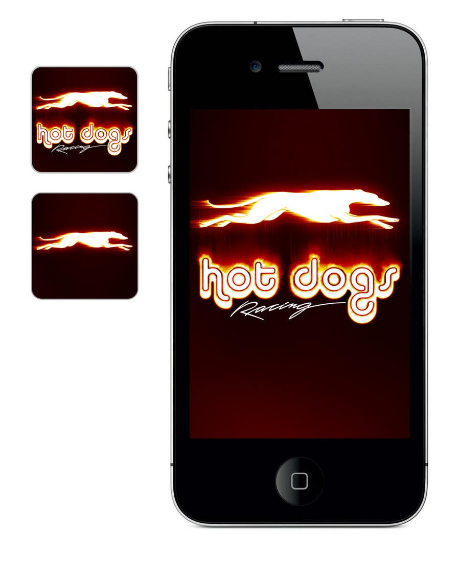 #4 for Graphic Design for Hotdogs racing by VictorNdoromo
