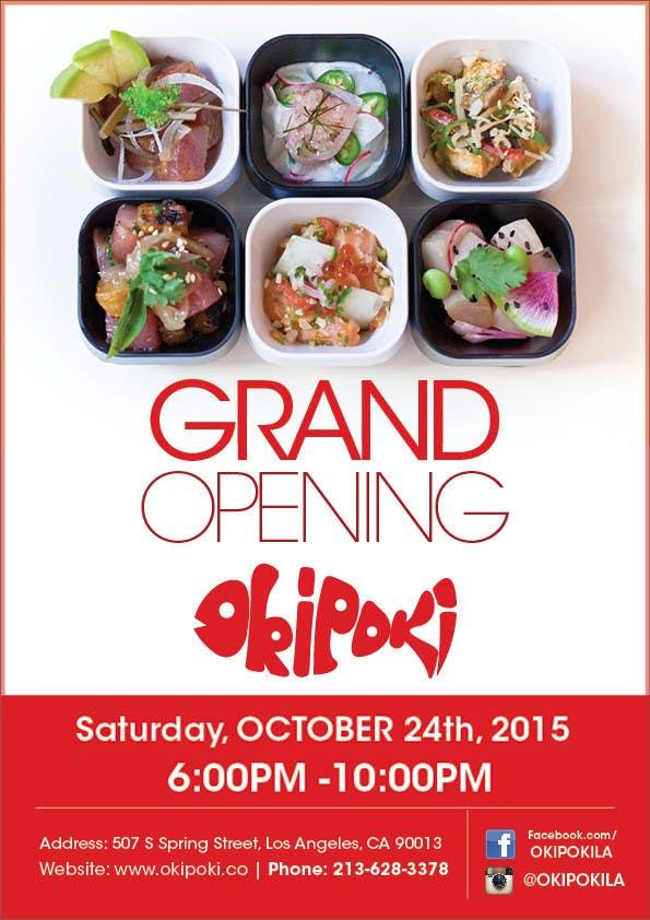 Design Restaurant GRAND OPENING Flyer – Grand Opening Flyer