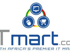 #28 untuk Design a logo for ITmart oleh JosephNgo