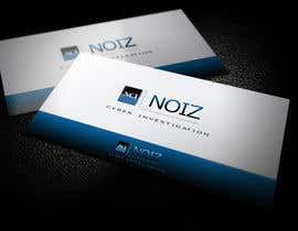 #336 para Logo Design for Noiz Cyber Investigation por novodesigns