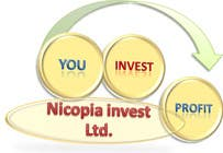Contest Entry #14 for Designa en logo for Nicopia Invest Ltd