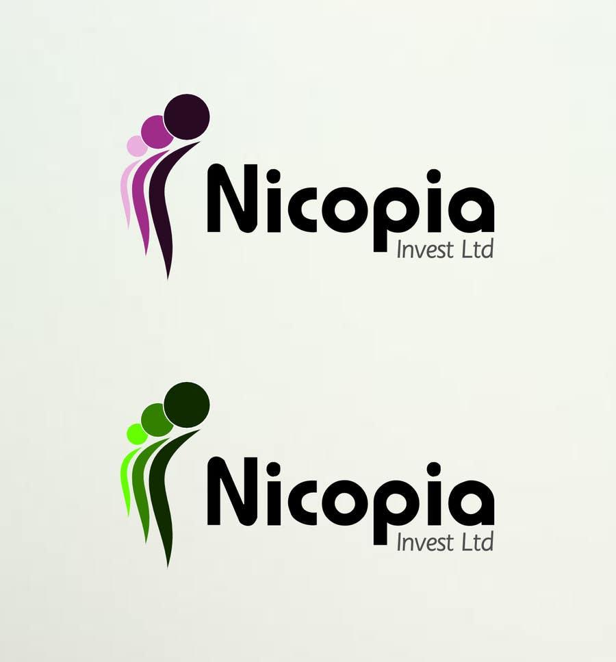 #58 for Designa en logo for Nicopia Invest Ltd by ccakir