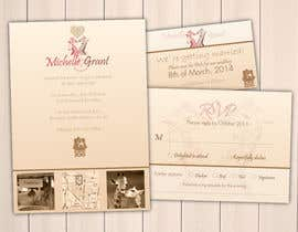 KevinChoiKang tarafından Wedding Invitation and Save the date card için no 8
