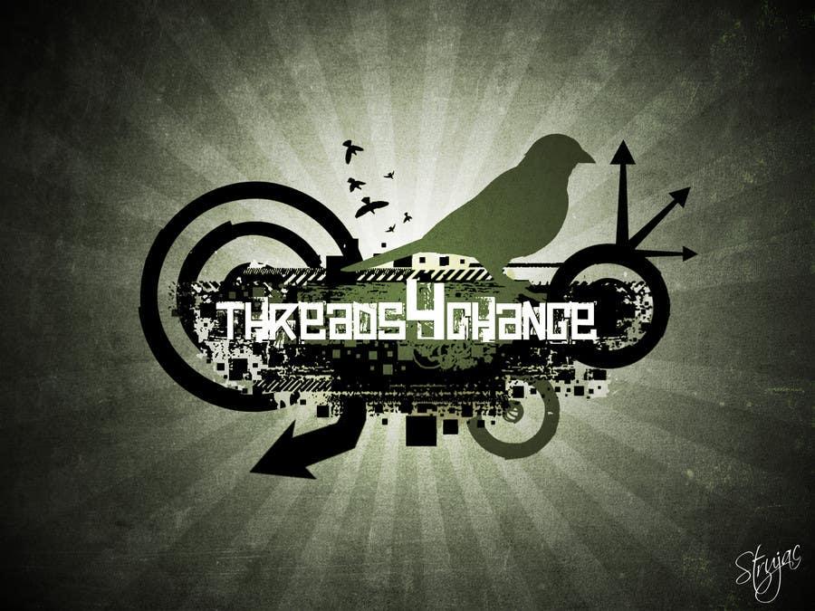 Kilpailutyö #187 kilpailussa Logo Design for Threads4Change