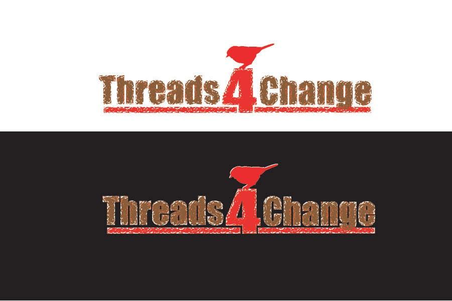 Конкурсная заявка №112 для Logo Design for Threads4Change