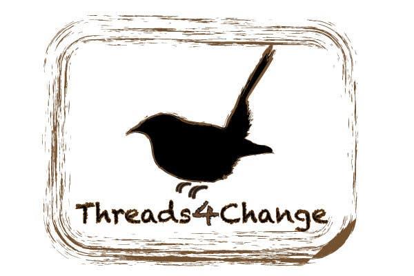 Kilpailutyö #121 kilpailussa Logo Design for Threads4Change