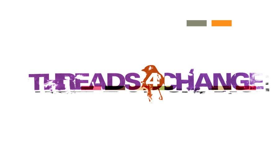 Kilpailutyö #129 kilpailussa Logo Design for Threads4Change