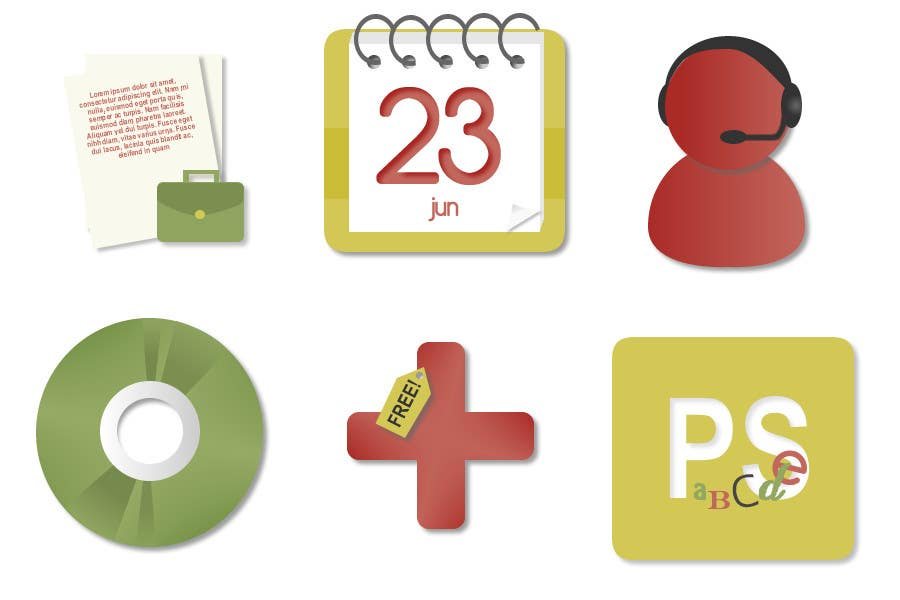 Contest Entry #                                        37                                      for                                         Design Icon Set for Magestore (will choose 3 winners)