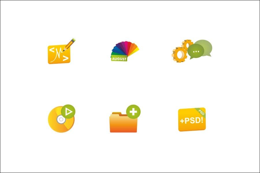 Contest Entry #                                        36                                      for                                         Design Icon Set for Magestore (will choose 3 winners)