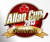 Logo Design Конкурсная работа №68 для Logo Design for Allan Cup 2013 Organizing Committee