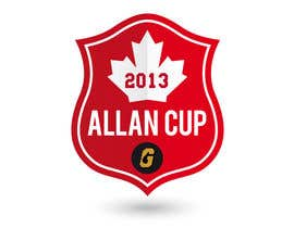 #76 para Logo Design for Allan Cup 2013 Organizing Committee por JoGraphicDesign
