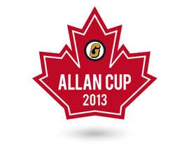 JoGraphicDesign tarafından Logo Design for Allan Cup 2013 Organizing Committee için no 73
