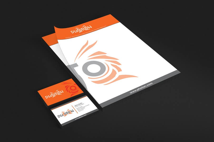 Konkurrenceindlæg #112 for Design a logo, business card and company letterhead for an IT startup