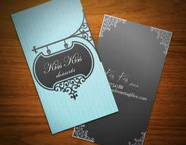 #208 for Business Card Design for Kiss Kiss Desserts af StrujacAlexandru