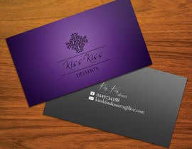 #229 pentru Business Card Design for Kiss Kiss Desserts de către StrujacAlexandru