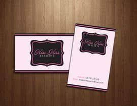 #215 pentru Business Card Design for Kiss Kiss Desserts de către Deedesigns