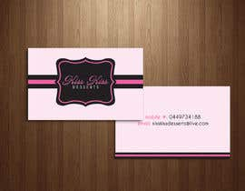 #217 para Business Card Design for Kiss Kiss Desserts de Deedesigns