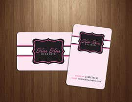 #218 para Business Card Design for Kiss Kiss Desserts por Deedesigns