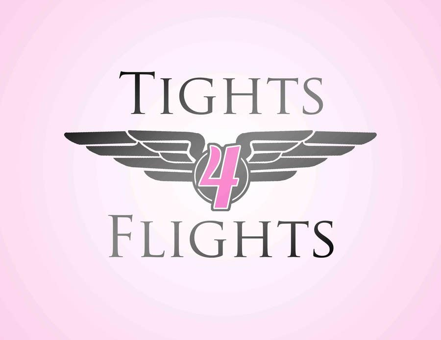 #11 for Design a Logo for Tights 4 Flights by taylorhanneman