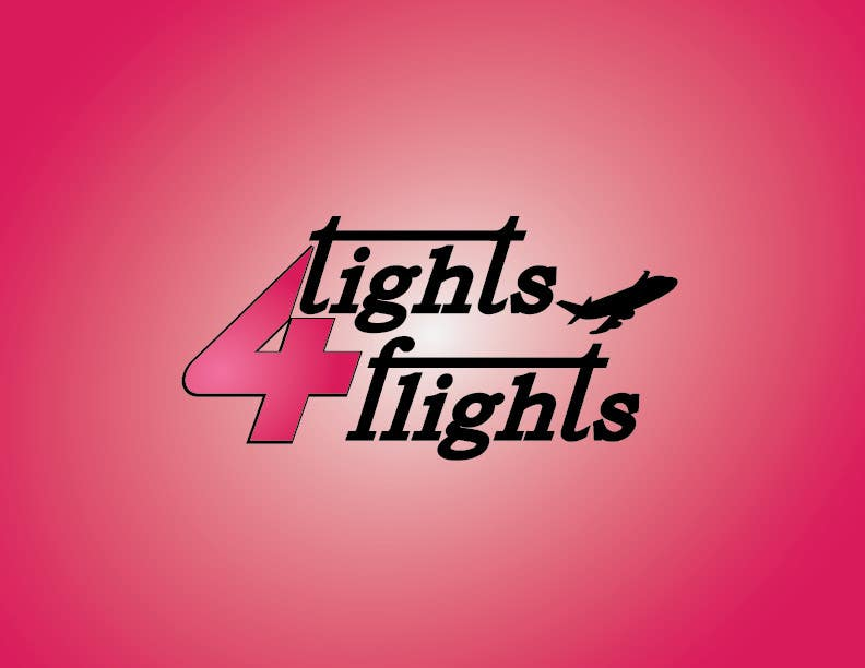 #7 for Design a Logo for Tights 4 Flights by henarosa