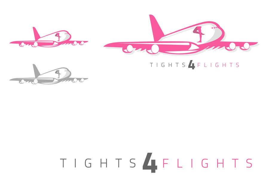 #4 for Design a Logo for Tights 4 Flights by adumcooper