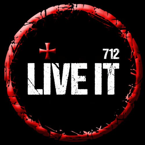 #110 for Live it 712 T-shirt design by alkasingh2000