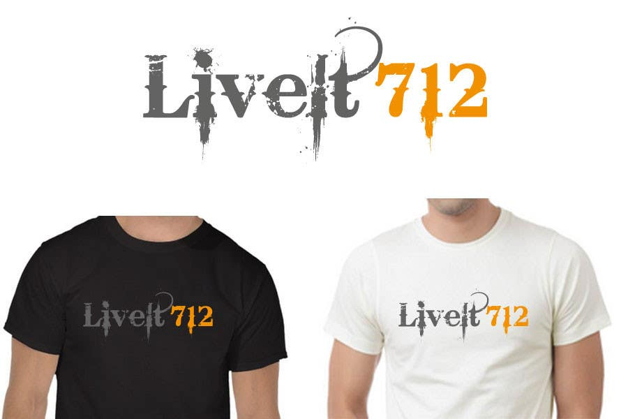 #52 for Live it 712 T-shirt design by woow7