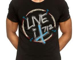 #112 para Live it 712 T-shirt design por GreenworksInc