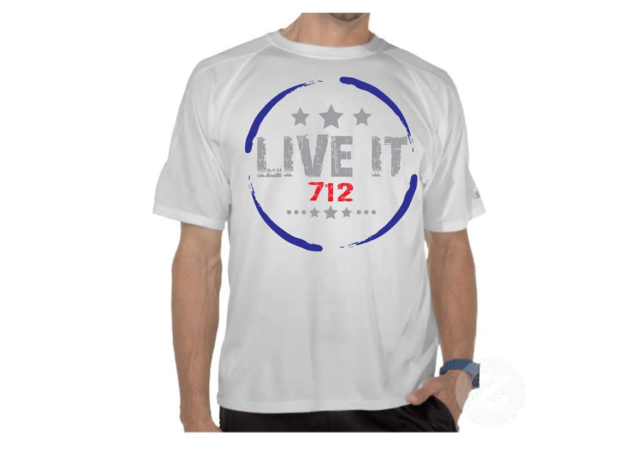 #34 for Live it 712 T-shirt design by watzinglee