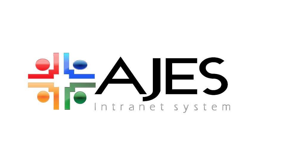 Bài tham dự cuộc thi #                                        28                                      cho                                         Design a Logo for AJES Intranet System