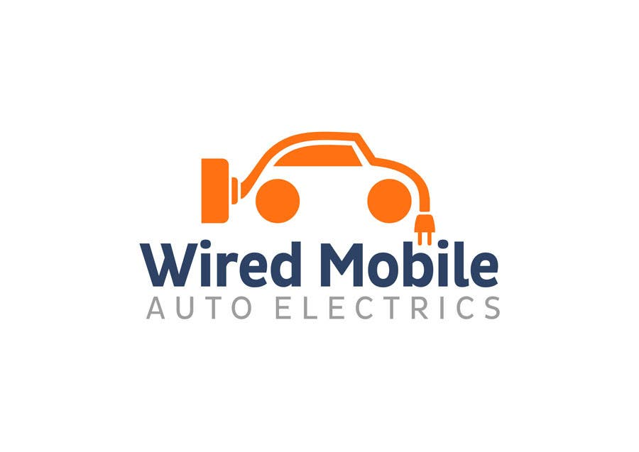 Entry #29 by rogerweikers for Wired Mobile Auto Electrics Logo ...