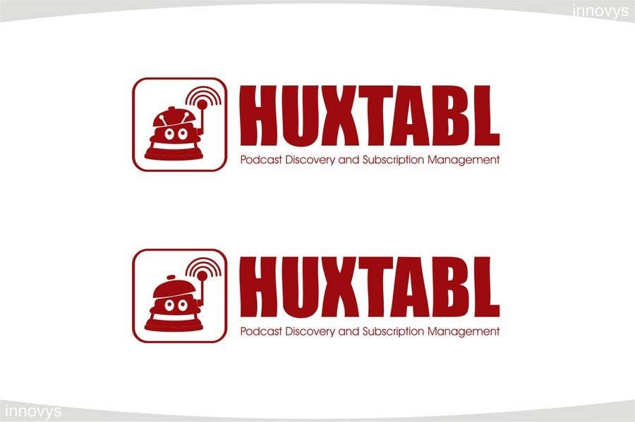"""Intrarea #323 pentru concursul """"Logo Design for Huxtabl"""""""