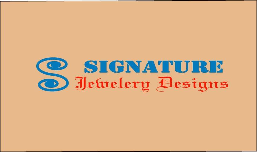 Bài tham dự cuộc thi #93 cho Design a Logo for jewlery design business